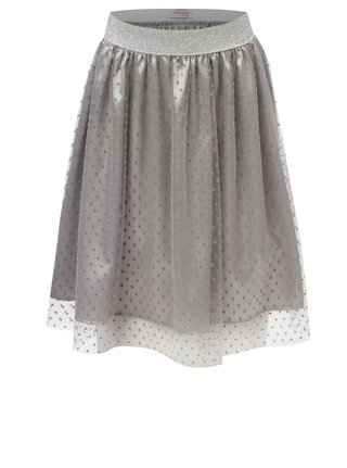 Sivá sukňa s bodkami 5.10.15.
