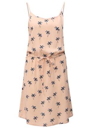 Rochie roz cu model palmieri Haily´s Tabea