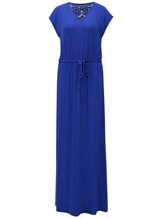 Rochie maxi albastra cu dantela Dorothy Perkins Tall