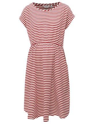Rochie alb-rosu in dungi cu buzunare pentru femei insarcinate Dorothy Perkins Maternity