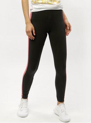 Leggings de dama negri cu dungi adidas Originals
