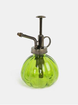 Zelený skleněný rozprašovač Dakls