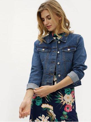 Modrá džínová bunda MISSGUIDED