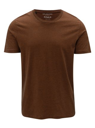 Tricou maro in dungi Selected Homme The Perfect