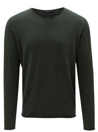 Tmavozelený sveter Selected Homme Dome
