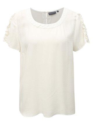 Bluza de dama crem cu model Broadway Fiorella