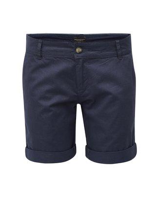Pantaloni de dama scurti albastru inchis cu buzunare Broadway Garland