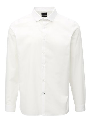 Camasa alba skinny fit Burton Menswear London