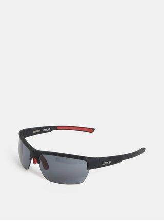 Čierne pánske slnečné okuliare Dice Sport