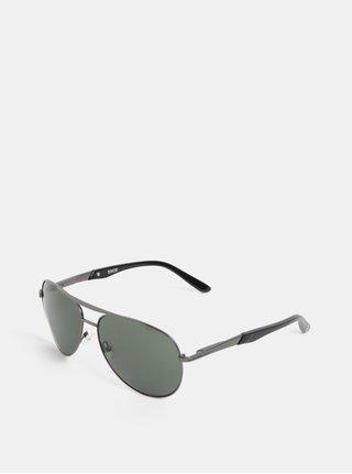 Zeleno-sivé pánske slnečné okuliare Dice