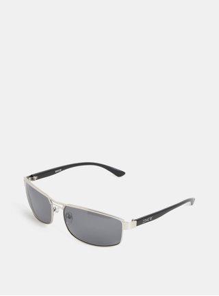 Pánske slnečné okuliare v striebornej farbe Dice Arm Polar