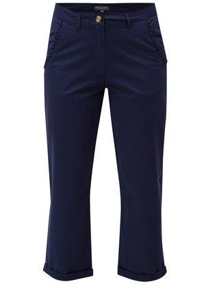 Pantaloni albastri crop chino Dorothy Perkins Tall