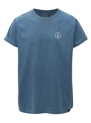 Modré tričko s potlačou Mr.Sailor
