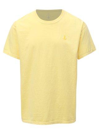 Žluté basic tričko s výšivkou Mr.Sailor