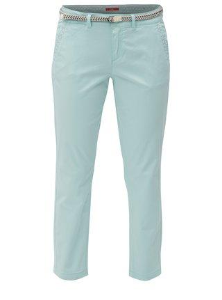 1b16ddecd4 Mentolové dámské zkrácené kalhoty s.Oliver
