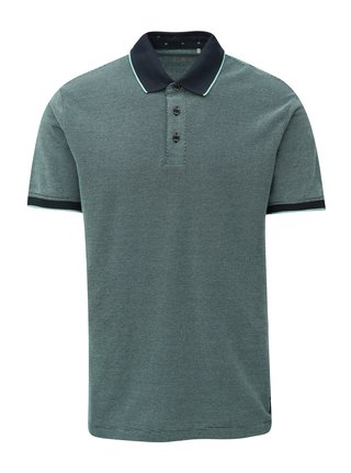 Tricou barbatesc polo albastru regular fit s.Oliver