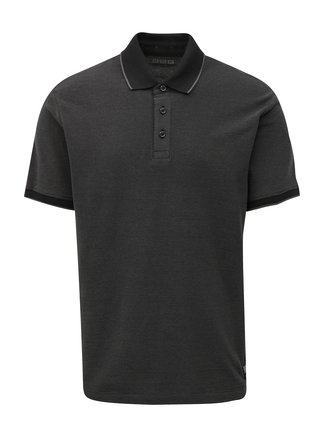 Tricou barbatesc polo gri regular fit s.Oliver