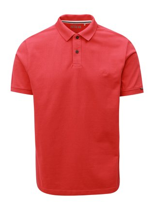 Tricou barbatesc polo rosu regular fit s.Oliver