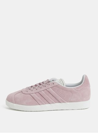 Ružové dámske semišové tenisky adidas Originals Gazelle