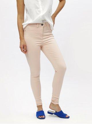Blugi roz deschis skinny din denim M&Co