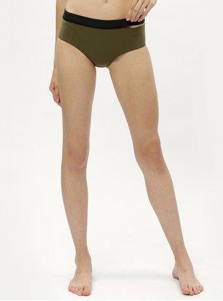 Zelený spodní díl plavek Calvin Klein