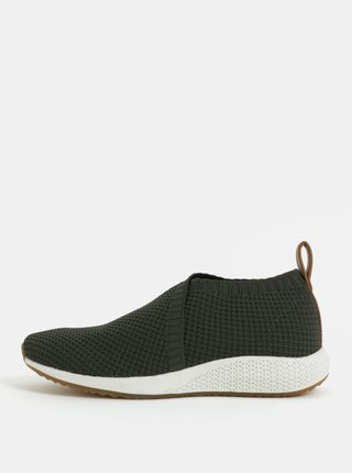 Kaki slip on Tamaris
