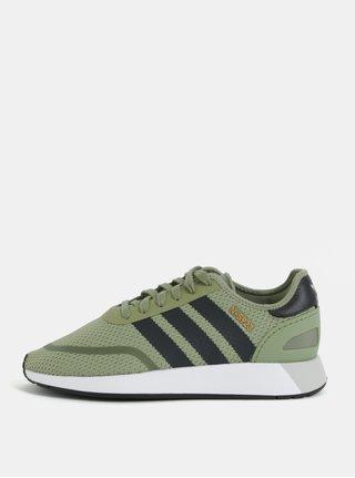 Zelené tenisky adidas Originals Runner