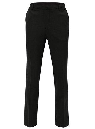 Tmavosivé oblekové nohavice Burton Menswear London