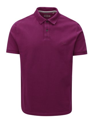 Tricou barbatesc polo roz regular fit s.Oliver