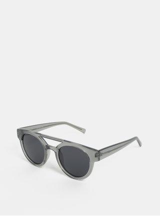 Sivé dámske slnečné okuliare Komono Dreyfuss