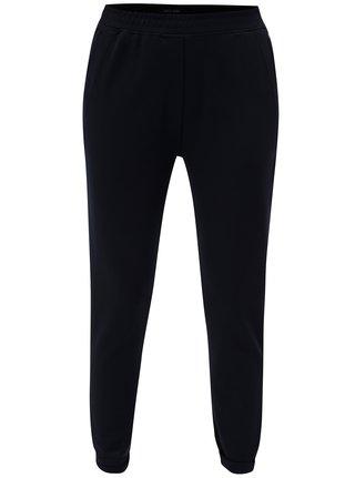 Tmavomodré dámske nohavice s vysokým pásom Garcia Jeans