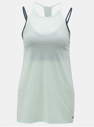 Modré dámske funkčné tielko so všitou podprsenkou Nike Tank SPRT