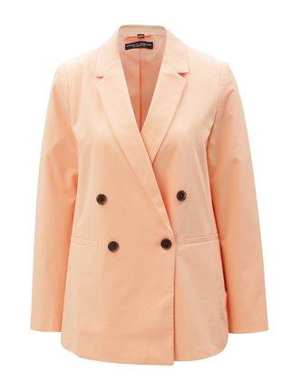 Meruňkové sako s kapsami Dorothy Perkins