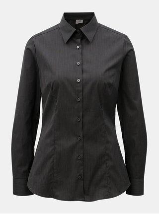 Camasa de dama neagra cu dungi VAVI