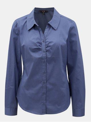 Camasa albastra cu maneci lungi Yest