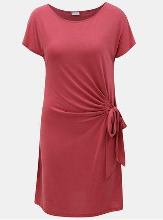 Vínové šaty VILA Tetsy