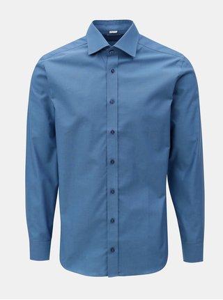 Modrá pánska formálna košeľa VAVI