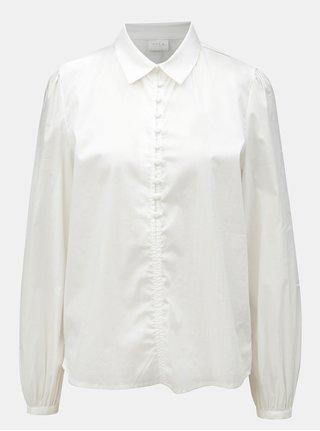 Biela košeľa VILA Placket 9fb21316d2f