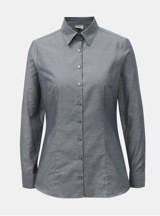 Šedá dámská košile s manžetovými knoflíky VAVI