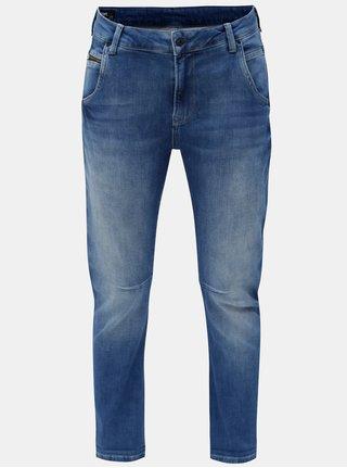 Blugi de dama albastri crop din denim Pepe Jeans Topsy