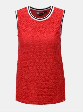 Červené krajkové tílko Dorothy Perkins