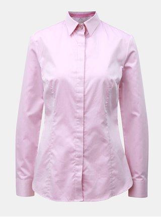 Růžová dámská košile se skrytou légou VAVI