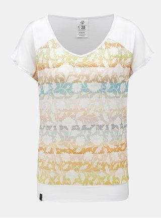 Biele dámske tričko WOOX