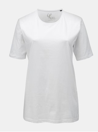 Biele basic tričko Ulla Popken