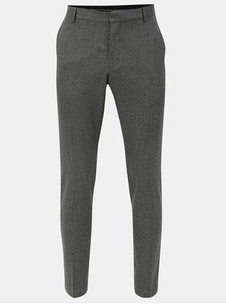 Sivé oblekové nohavice Selected Homme