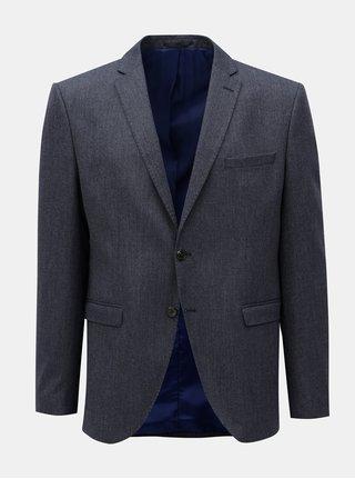 Tmavě modré oblekové sako Selected Homme