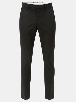 Čierne slim nohavice Selected Homme
