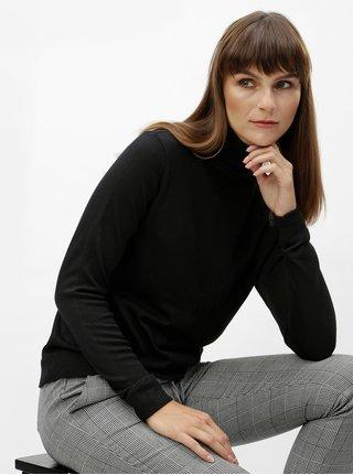 Černý svetr s rolákem VILA Wendis