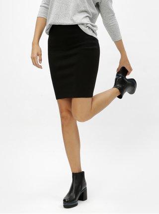 Černá pouzdrová sukně Noisy May Cirus