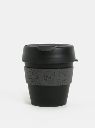 Cana de calatorie gri-negru KeepCup Original Small